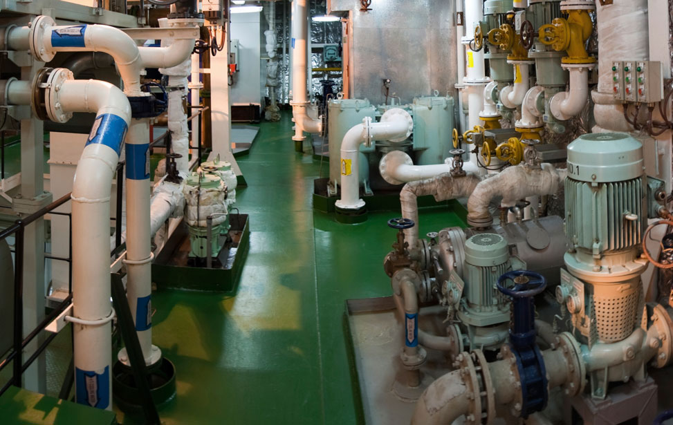 Lube Bilge and Cooling Pumps