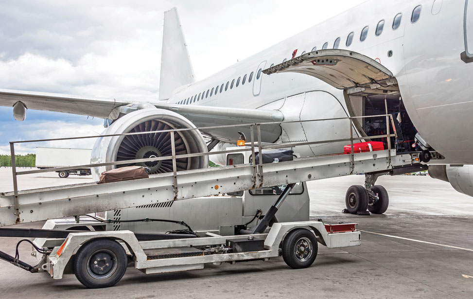 Airport Truck-Mounted Baggage Conveyors