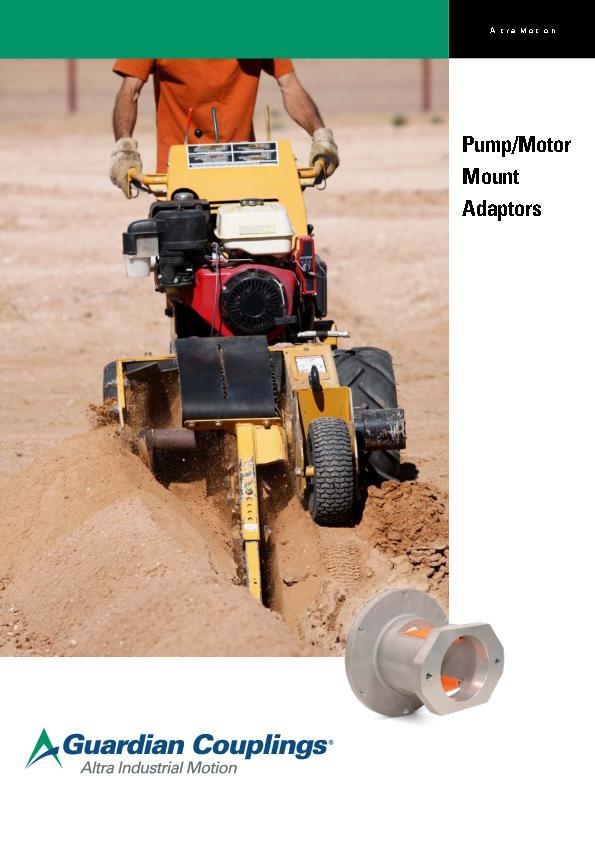 (A4) Pump Motor Mount Adaptors