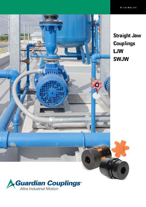 (A4) Straight Jaw Couplings LJW and SWJW
