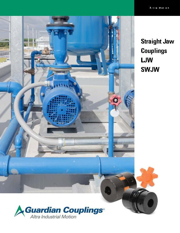 Straight Jaw Couplings LJW and SWJW