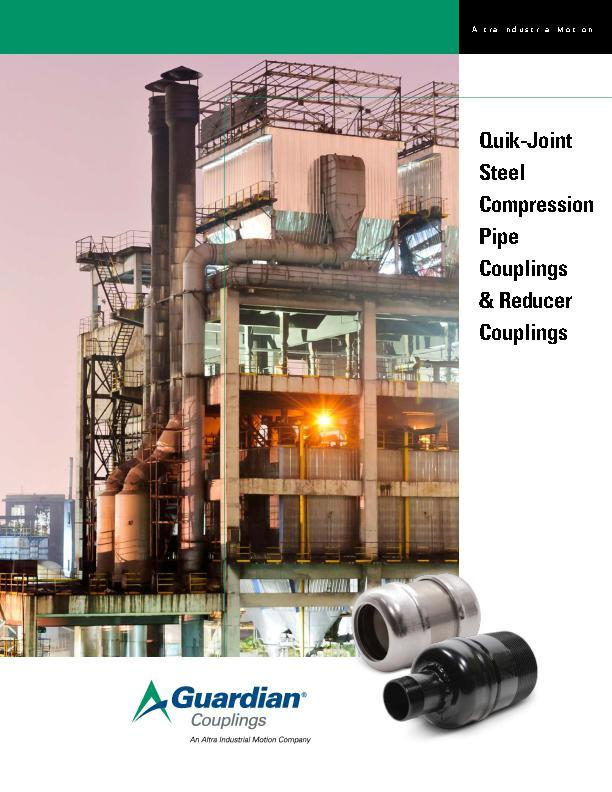 Quik-Joint Steel Compression Pipe Couplings