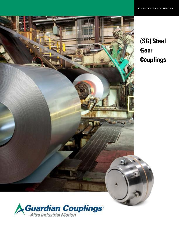 SG Steel Gear Coupling