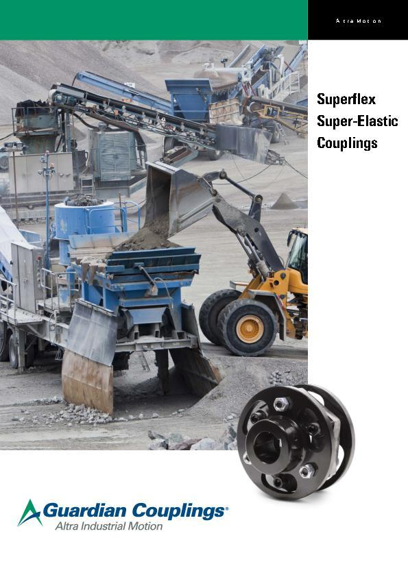 (A4) Superflex Super Elastic Couplings