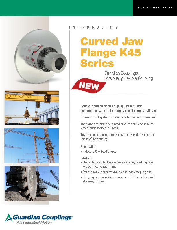 Curved Jaw Flange K45 Series