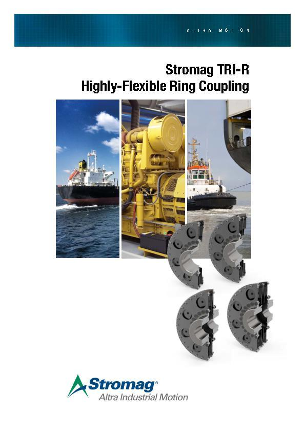 (A4) Stromag TRI-R Highly-Flexible Ring Coupling